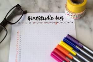 How to Set up a Gratitude Log