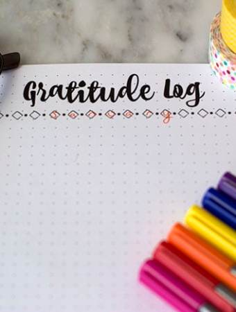 How a Daily Gratitude Log Can Change Your Life – Free Printable