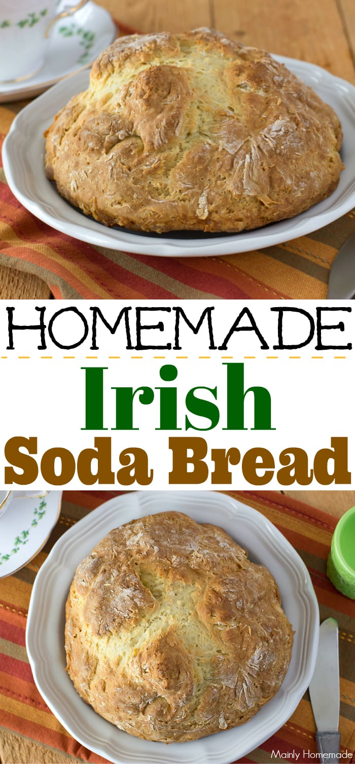 Traditional Homemade Irish Soda Bread recipe