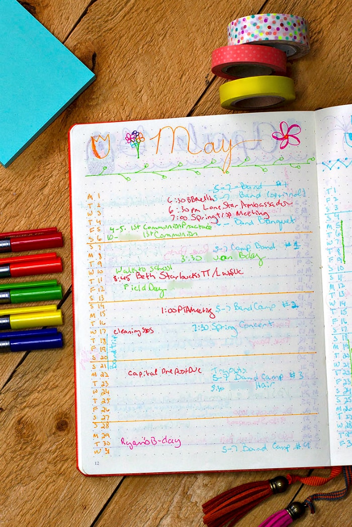 Color Code Journal color