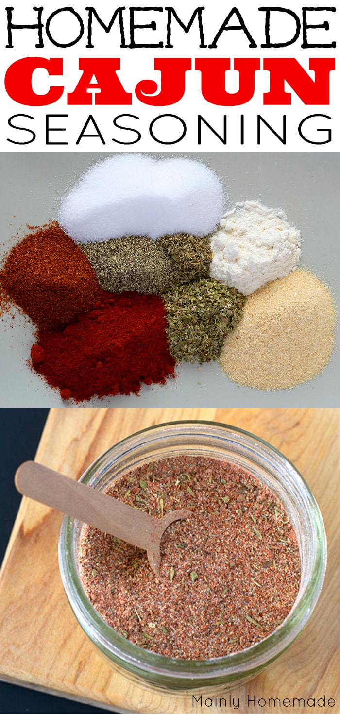 Homemade cajun seasoning recipe