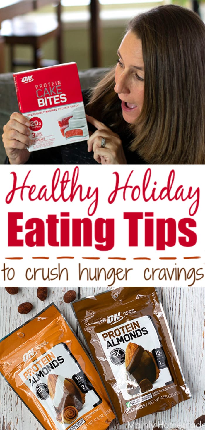 Healthy Holiday Eating Tips to crush you hunger cravings. Great tips to avoid the holiday weight gain.