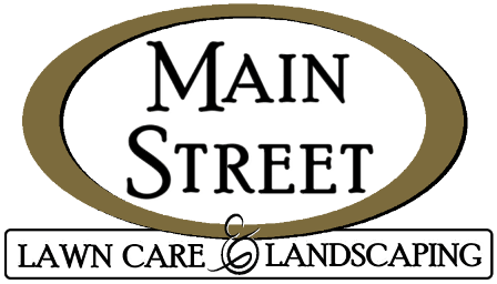 Main Street Lawn Care and Landscaping Logo Retina