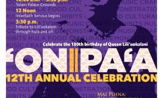 'Onipa'a 2018 flier