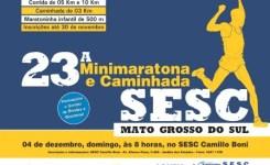 23ª Minimaratona e Caminhada do SESC – Campo Grande
