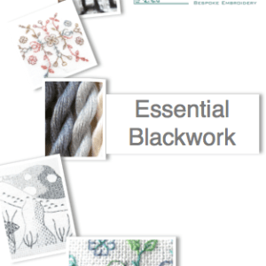 Blackwork distance embroidery course