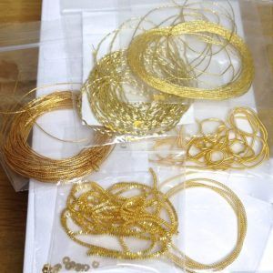 Goldwork wires pack