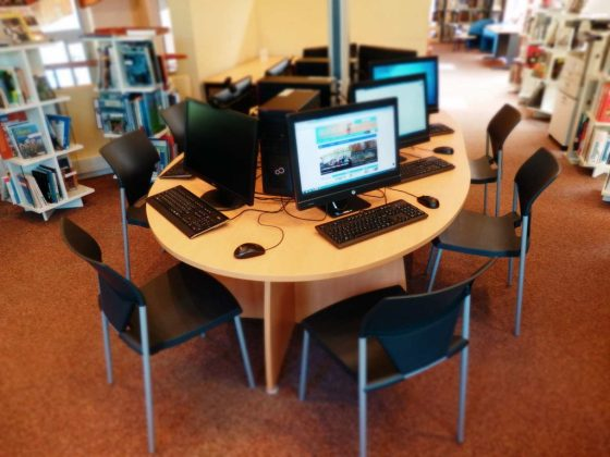 Espace-multimédia de la bibliothèque