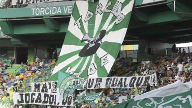 "Photo of Torcida Verde manifesta-se contra ""balcanização"" do Sporting"