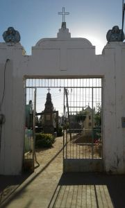 Cemitério de Senhora Santana se tornou elemento cultural da identidade do povo do Bairro Sete de Setembro. Foto: João Anderson.