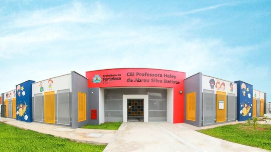 Creche inaugurada em Fortaleza recebe nome de professora morta em incêndio…