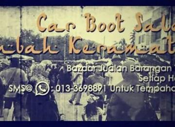 Car Boot Sale AU5 Lembah Keramat