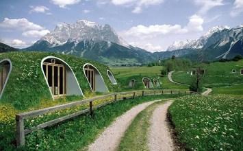 Rumah Hobbit sudah menjadi realiti