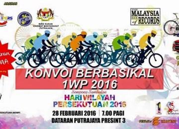 Konvoi Berbasikal 1WP 2016   Putrajaya
