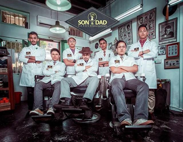 Son & Dad Barber Shop