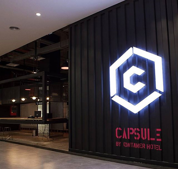 Capsule by Container Hotel Selangor - 1