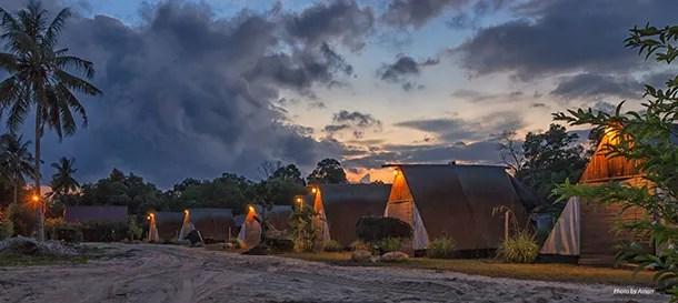 Tanjung Inn - Tent Huts