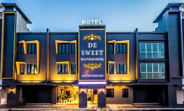 De Sweet Boutique Hotel Johor Bahru - Main Image