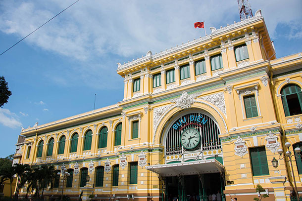 Central Post Office Ho Chi Minh