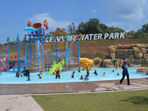 Kenyir Water Park - Attractions Image
