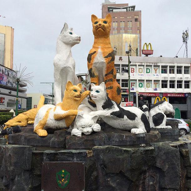 Tugu Kuching Image