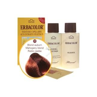 Teinture Blond auburn 120 ml Numéro 13 Erbacolor