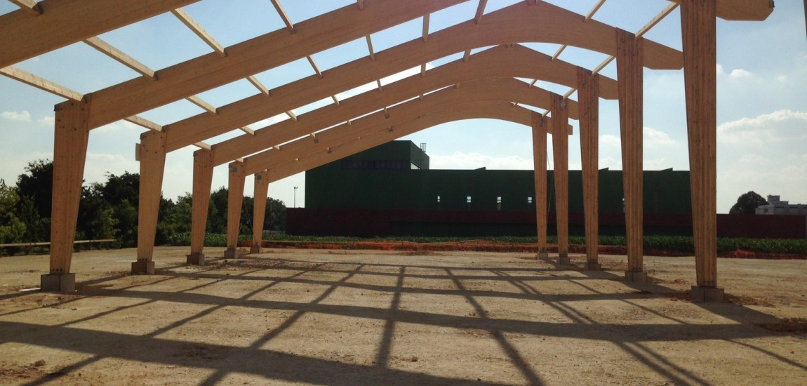 Batiment structure bois maison en bois vivanbois for Batiment structure bois