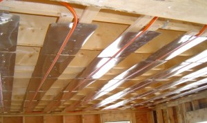 Le plafond chauffant (rayonnant) : astucieux et invisible