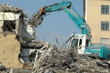 démolition d'une maison