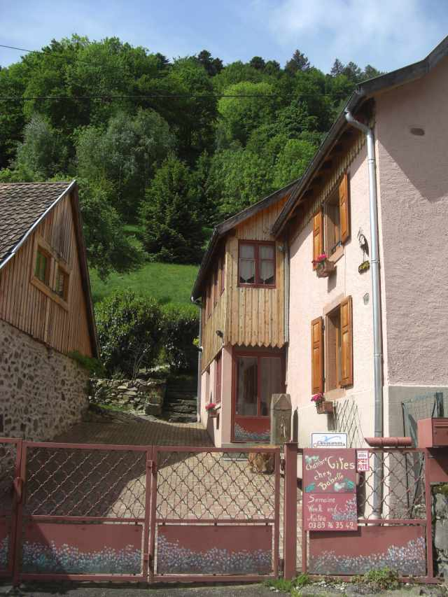Gite Chez Babette Chambre Dhte Linthal Haut Rhin 68