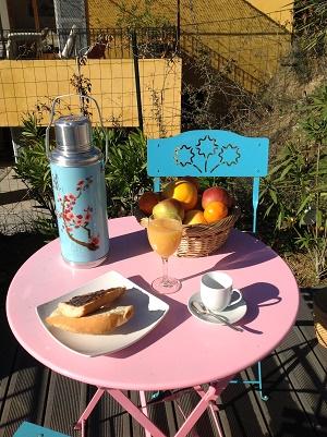 dejeuner au soleil