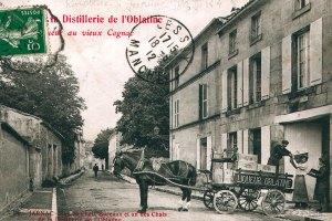 Vue Carte Postale ancienne Jarnac ville natale Mitterrand