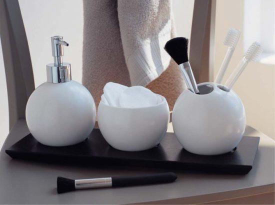 accessoires deco pour la salle de bains