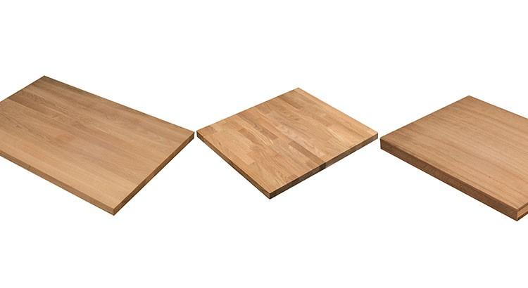 choisir un plan de travail en bois