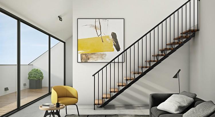 10 modeles d escalier pret a poser pour