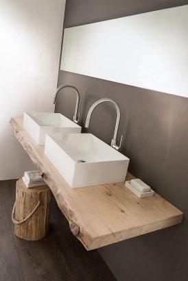 25 idees pour une salle de bains en bois