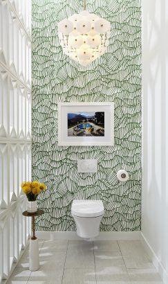 24 Idees Pour Le Revetement Mural De Ses Toilettes