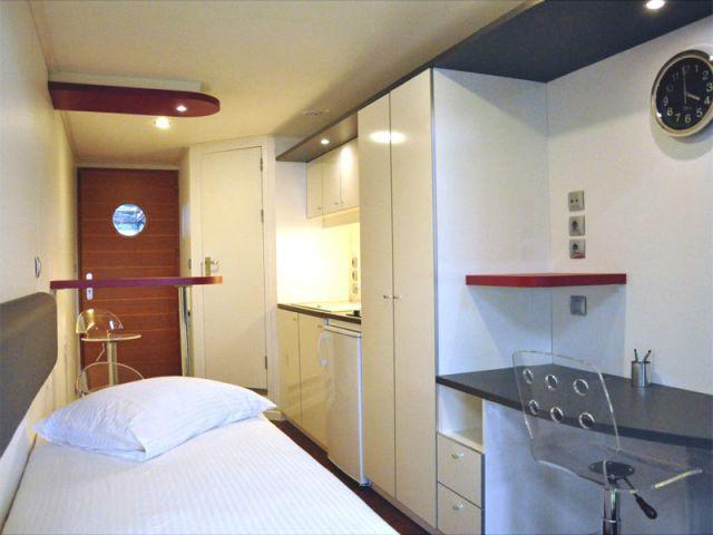 cabines de bateaux aux habitats modulaires