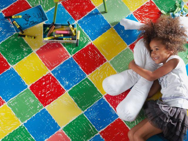 de sol pour une chambre d enfant
