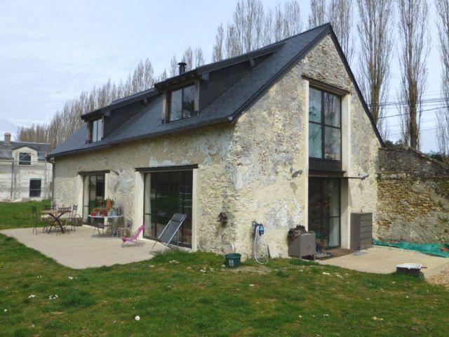 De La Grange Abandonne La Maison Moderne Familiale