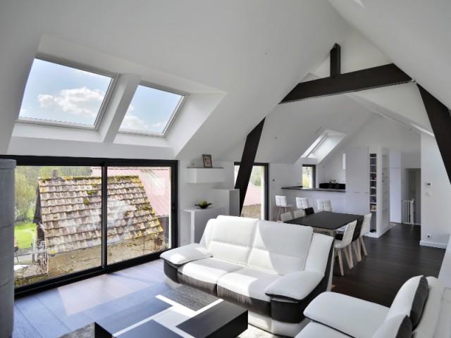 Une Grange Alsacienne Transforme En Habitation Contemporaine