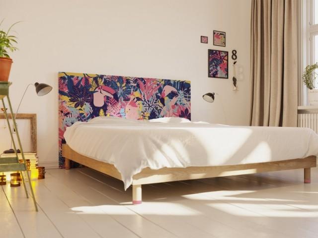 20 idees pour une tete de lit originale