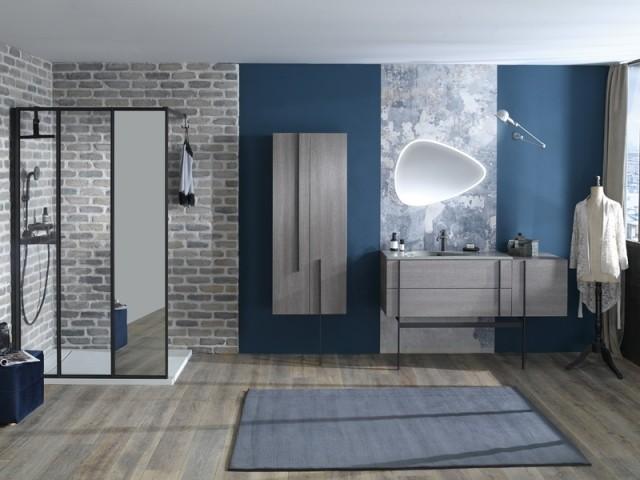 salle de bains chaleureuse