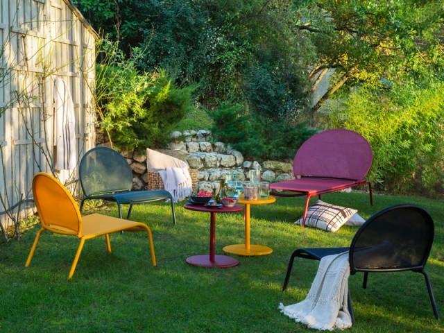 mobilier de jardin osez la couleur