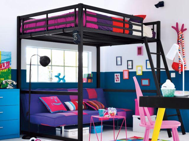 une mezzanine dans une chambre d enfant