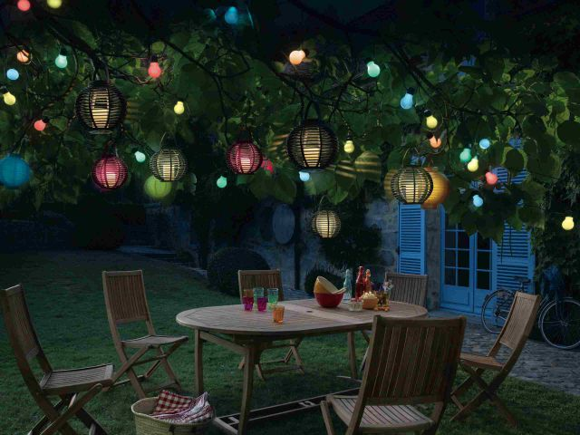 Des Luminaires Solaires De Jardin Pour Des Nuits Toiles