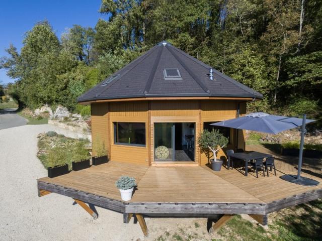 Une Maison Ronde En Bois Visite En 12 Photos