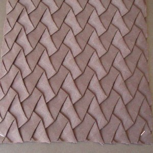 Cardboard manufactured pleat K041 by Barbagli Pleating supplier