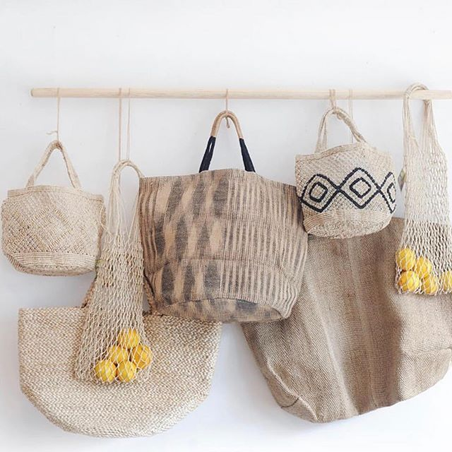 Thank you @thehambledon for this lovely photo of some of our hand woven and macrame jute products - such a pleasure working with you