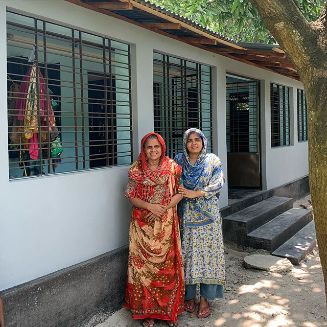 Mujida and her daughter were made homeless earlier this year, so thanks to you, our clients and friends around the world, we have built them a house. Wishing you all a very merry Christmas and a peaceful New Year